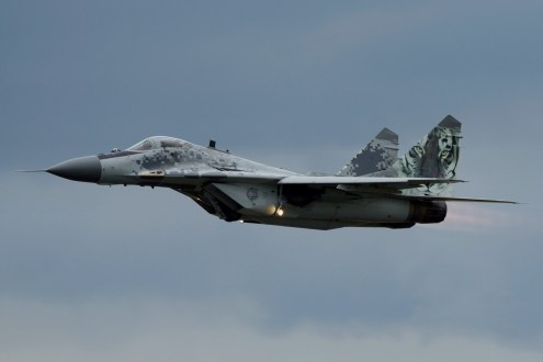 © Jamie Ewan • Slovak Air Force MiG-29AS 0921 • Luchtmachtdagen 2014