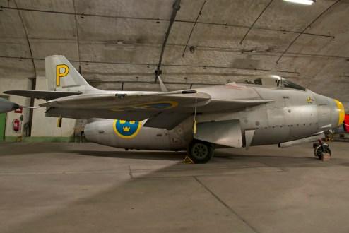 © Duncan Monk • Aeroseum - Göteborg, Sweden • SAAB J-29F 'flying barrel' Tunnan