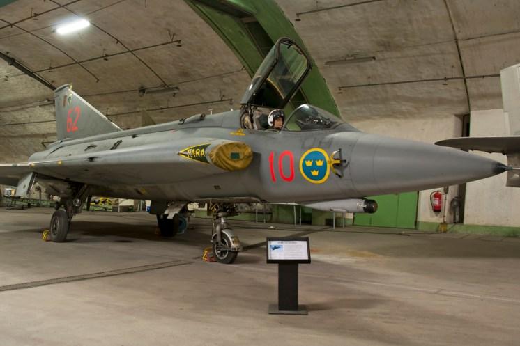 © Duncan Monk • Aeroseum - Göteborg, Sweden • SAAB J35F Draken