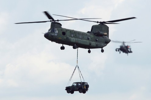 © Jamie Ewan • RNLAF CH-47D D-106 • Luchtmachtdagen 2014