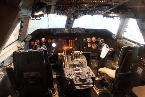 © Michael Lovering • Boeing 747-400 Cockpit • Smithsonian Air & Space - Washington DC