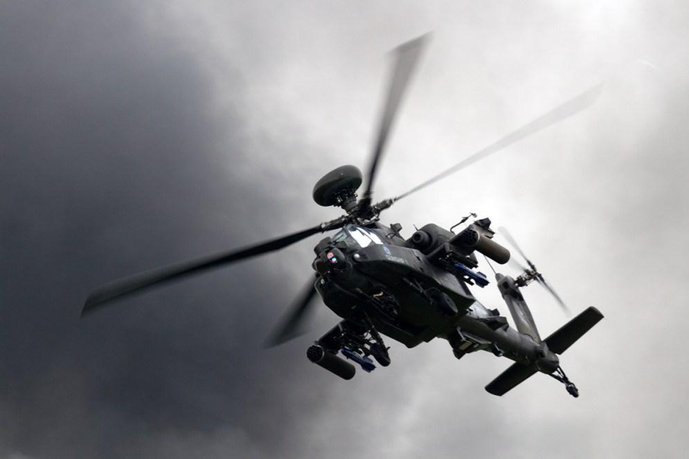 © Mic Lovering • AAC Apache • RAF Cosford Air Show 2015