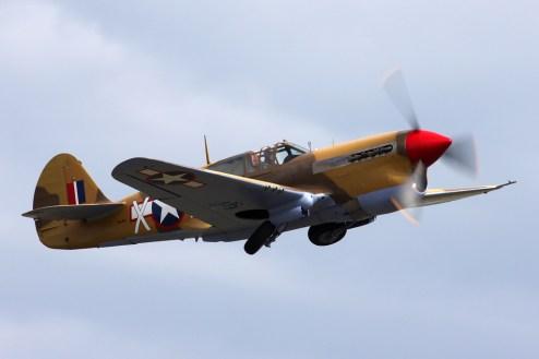 © Ben Montgomery • Curtiss P-40F Warhawk • Duxford Flying Legends 2011