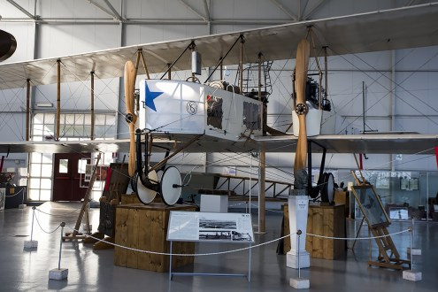 © Adam Duffield • Caproni Ca3 23174 • Italian Air Force Museum
