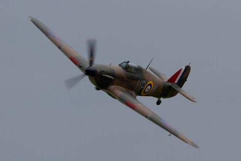 © Mic Lovering • Hawker Hurricane • RAF Cosford Air Show 2015