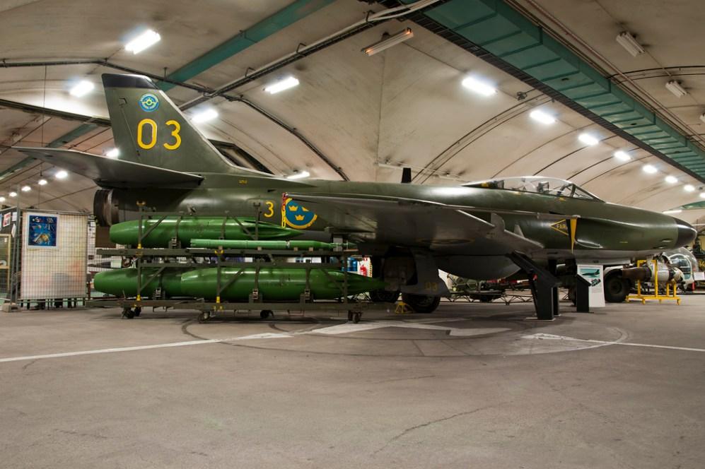 © Duncan Monk • Aeroseum - Göteborg, Sweden • SAAB J-32 Lansen