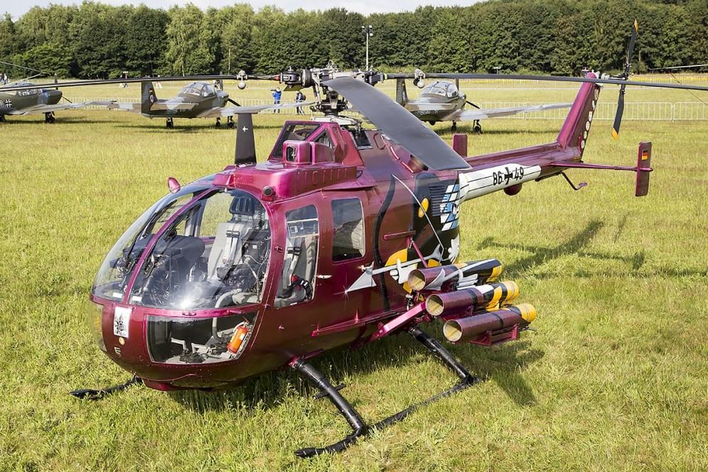 © Adam Duffield • German Army Bolkow BO-105 86+49 • Luchtmachtdagen 2014