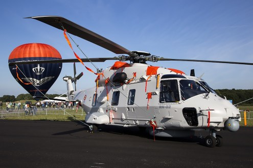 © Adam Duffield • Belgian Navy NH-90 RN-02 • Luchtmachtdagen 2014