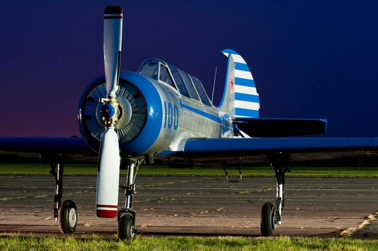 © Duncan Monk • Yak-52 G-YAKI • Abingdon Air & Country Show 2015