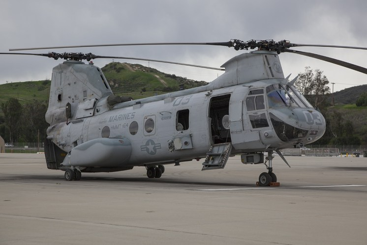 © Jason Grant • Boeing Vertol CH-46E Sea Knight 154799 • Marine Corps Base Camp Pendleton