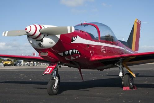© Duncan Monk • BAF Red Devils SF260 • RDAF Karup Airshow 2014