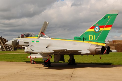 © Steve Smith - Royal Air Force • Eurofighter Typhoon FGR.4 • 3 Squadron 100th Anniversary