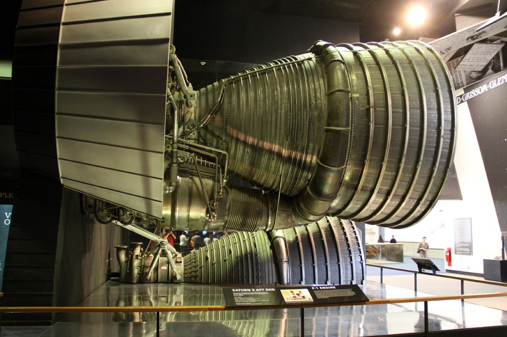 © Michael Lovering • F-1 Rocket Engine from Saturn V • Smithsonian Air & Space - Washington DC