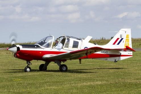 © Adam Duffield • Scottish Aviation Bulldog XX543 / G-CBAB • Old Buckenham Airshow 2014