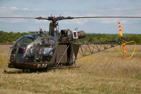 © Duncan Monk • Alouette V-54/G-BVSD • Throckmorton Air Show