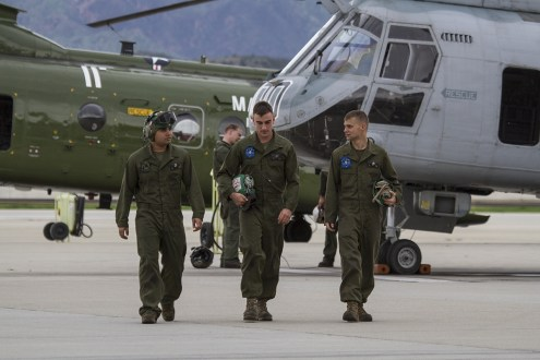 © Jason Grant • Boeing Vertol CH-46E Sea Knight Crew • Marine Corps Base Camp Pendleton