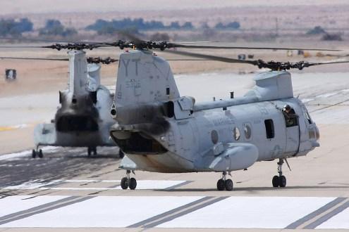 © Mark Forest • Boeing Vertol CH-46E Sea Knight 155306 • Marine Corps Base Camp Pendleton