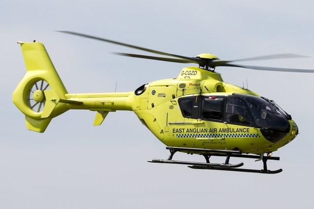 © Adam Duffield • East Anglian Air Ambulance EC-135 G-CGZD • Old Buckenham Airshow 2014