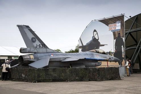 © Adam Duffield • Royal Netherlands Air Force F-16AM J-637 • Luchtmachtdagen 2014