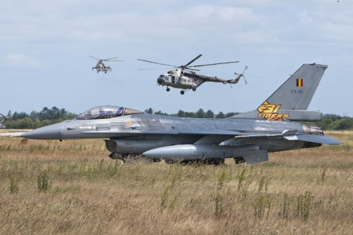 © Duncan Monk • Belgian Air Force F-16AM FA-119 • NATO Tiger Meet 2014