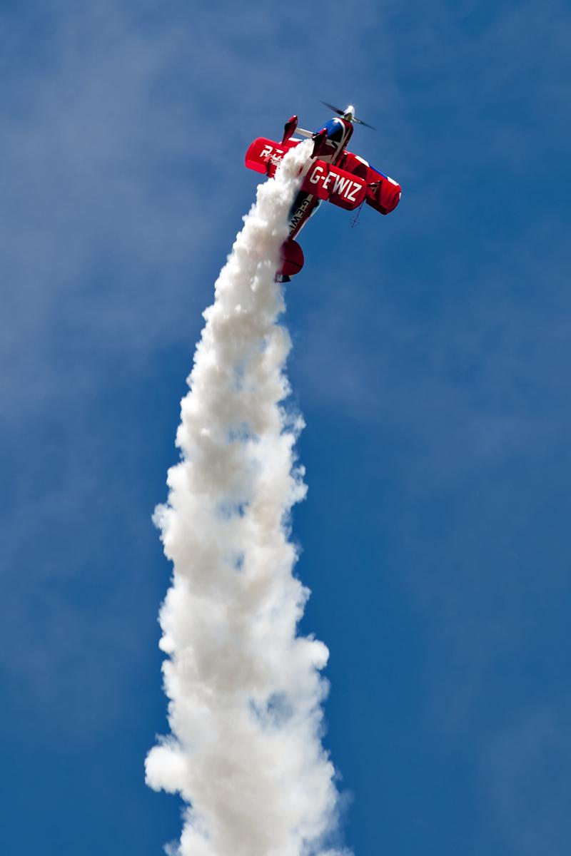 © Duncan Monk • Rich Goodwin Pitts S-2S G-EWIZ • Throckmorton Air Show