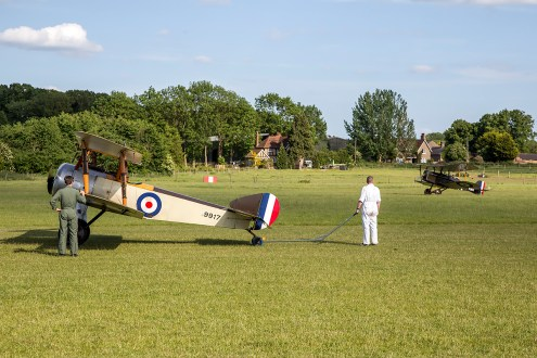 © Adam Duffield • Sopwith Pup • Shuttleworth LAA Party in the Park
