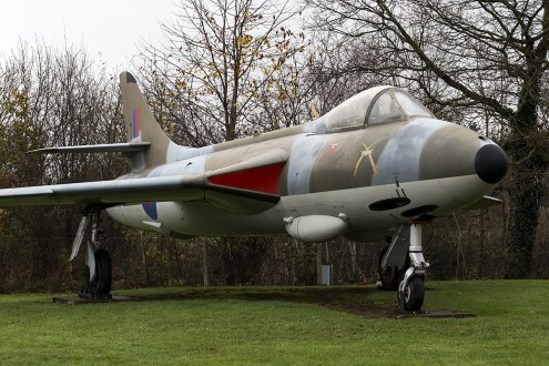© Adam Duffield • Hawker Hunter F6A XG225 • RAFM Cosford