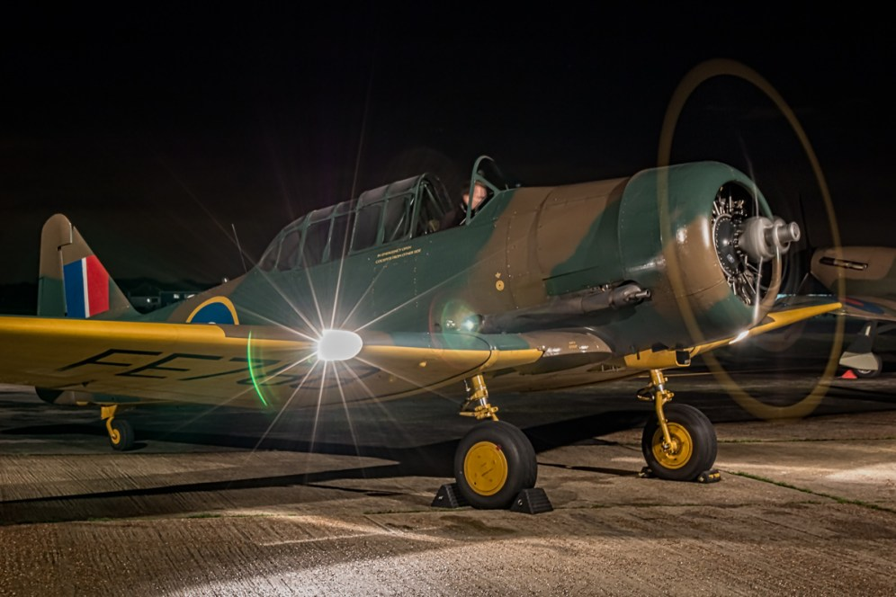 © Paul Smith • Harvard II FE788 • Biggin Hill Heritage Hangar Nightshoot