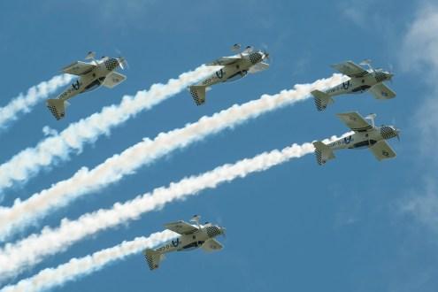 © Duncan Monk • Team Raven • Throckmorton Air Show