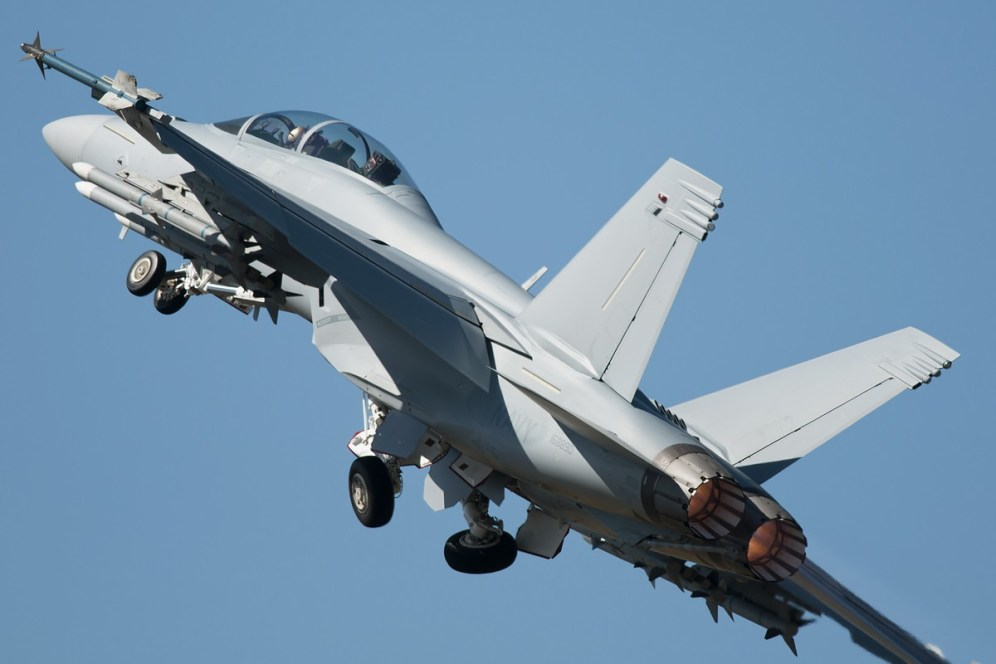 © Duncan Monk • US Navy F/A-18F • RDAF Karup Airshow 2014