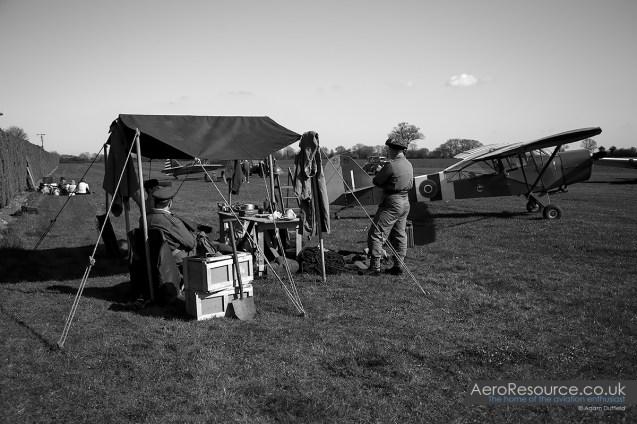© Adam Duffield • Auster Mk5 TJ652/G-AMVD • Hardwick Warbirds Photography Event