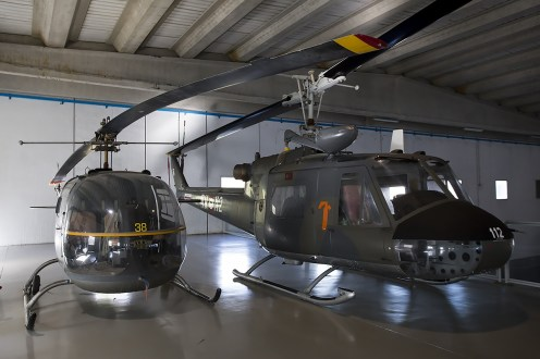 © Adam Duffield • Agusta AB-47J MM80187 & AB-204B MM80357 • Italian Air Force Museum