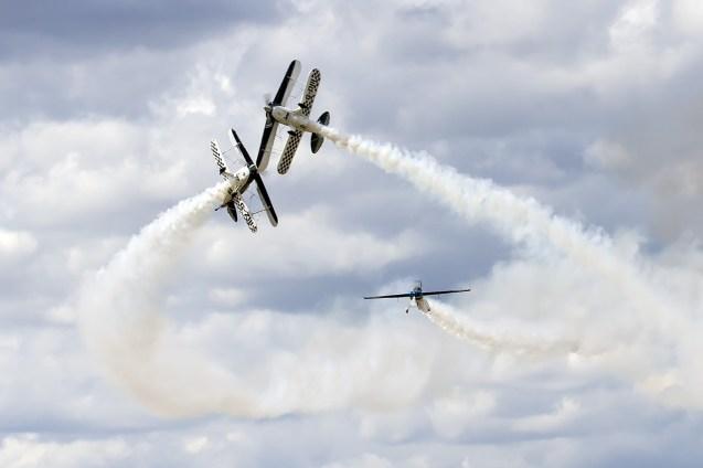 © Adam Duffield • Wildcat Aerobatics Pitts Edge 360 G-EDGJ• Old Buckenham Airshow 2014