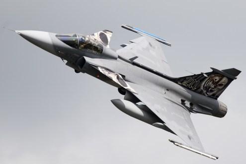 © Duncan Monk • Czech Air Force SAAB Gripen Special • NATO Tiger Meet 2014