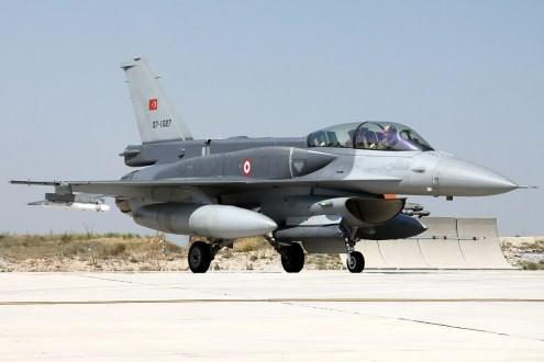 © Mark Kwiatkowski • TuAF F-16D 07-1027 • Anatolian Eagle 2014