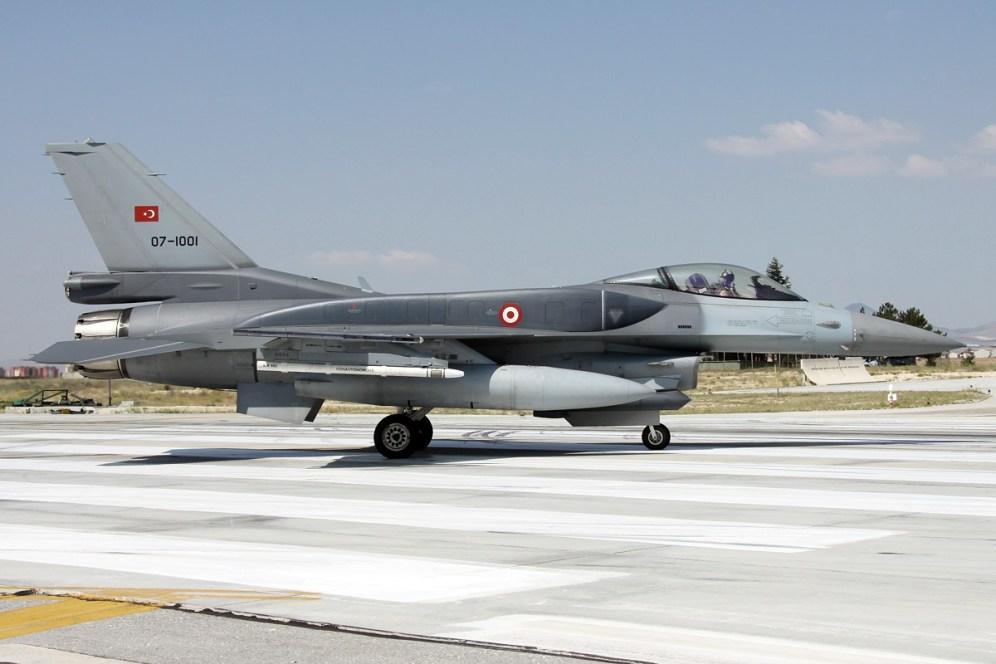 © Mark Kwiatkowski • TuAF F-16C 07-1001 • Anatolian Eagle 2014