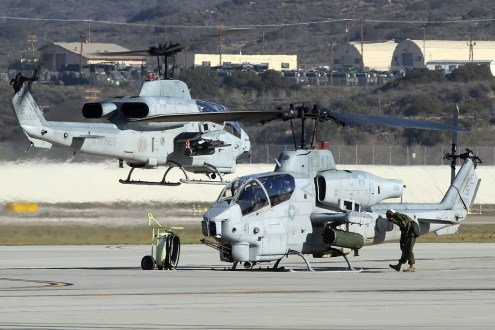 © Mark Forest • Bell AH-1 Cobra • Marine Corps Base Camp Pendleton