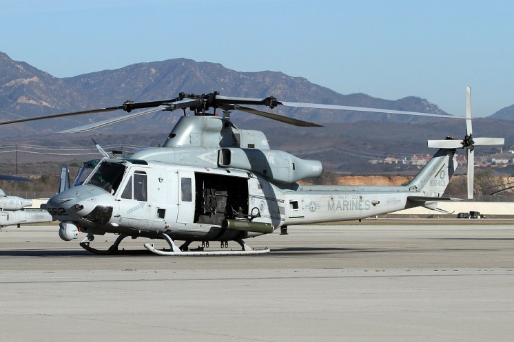© Mark Forest • Bell UH-1Y Venom 168413 • Marine Corps Base Camp Pendleton