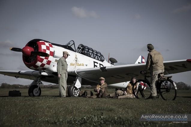 © Adam Duffield • North American Aviation AT-6D Harvard 42-84555/G-ELMH • Hardwick Warbirds Photography Event