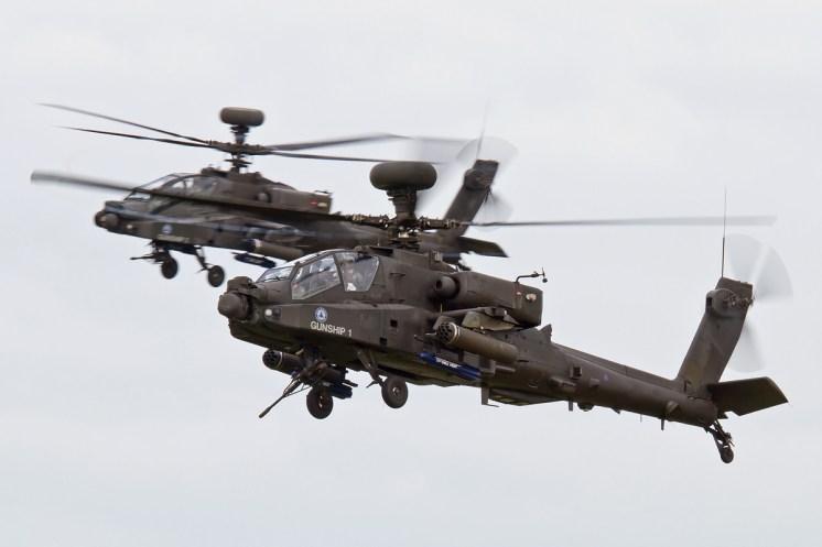 © Ben Montgomery • AAC Apache Demo Team • Duxford VE Day 70th Anniversary Airshow