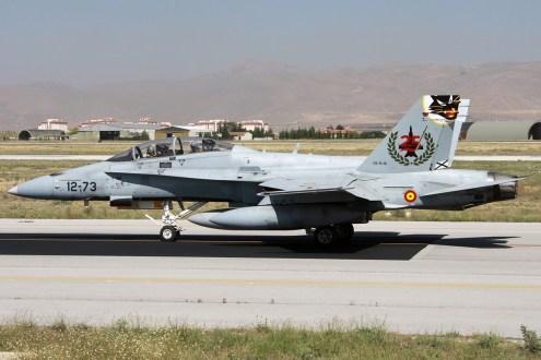 © Mark Kwiatkowski • Spanish Air Force EF-18A 12-73 • Anatolian Eagle 2014