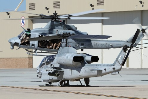 © Mark Forest • Bell AH-1W Cobra & UH-1Y Venom • Marine Corps Base Camp Pendleton