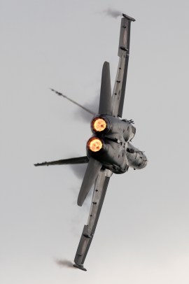 © Mic Lovering • Swiss F/A-18 Hornet • RAF Cosford Air Show 2015
