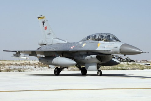 © Mark Kwiatkowski • TuAF F-16D 87-0002 • Anatolian Eagle 2014
