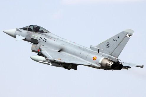 © Mark Kwiatkowski • Spanish Air Force EF-2000 Typhoon S 11-18 • Anatolian Eagle 2014