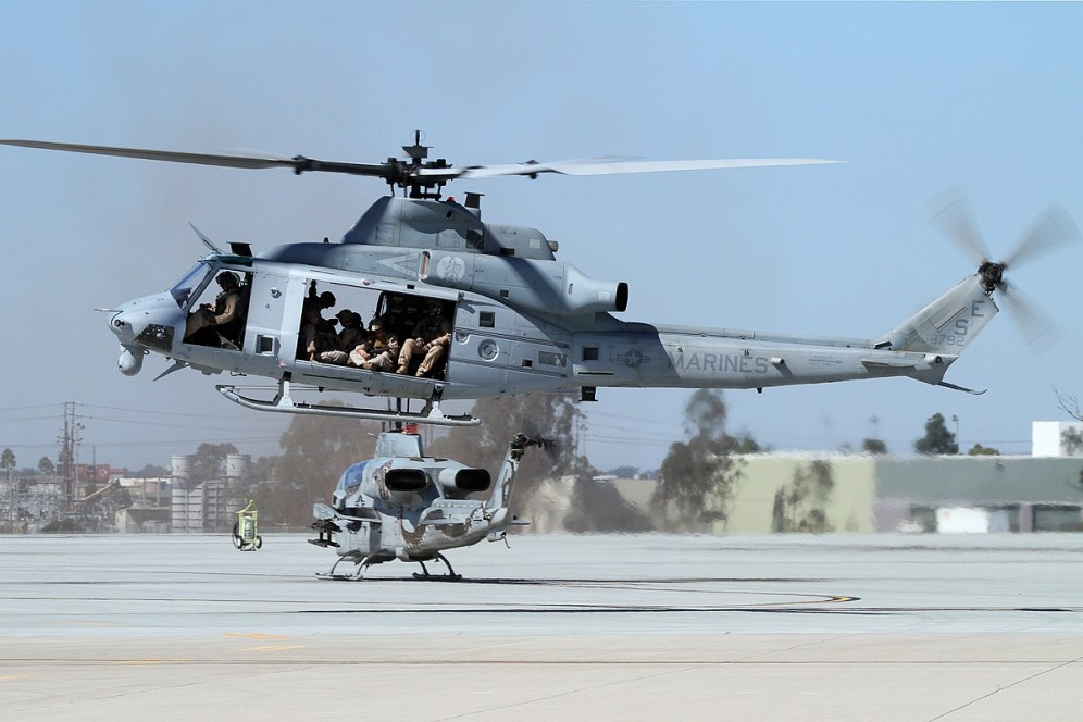 © Mark Forest • Bell UH-1Y Venom 168792 • Marine Corps Base Camp Pendleton