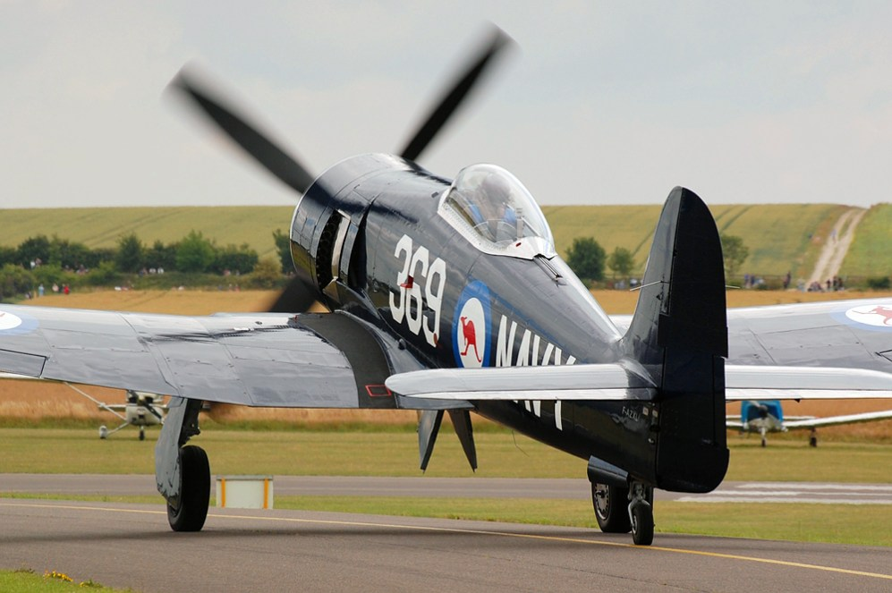 © Steve Smith • Hawker Sea Fury • Duxford Flying Legends 2011
