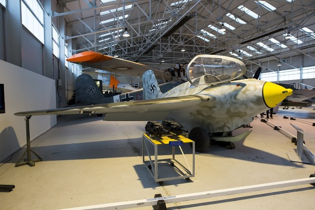 © Adam Duffield • Messerschmitt Me-163B Komet 191614 • RAFM Cosford