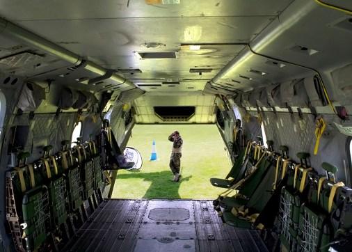 © Adam Chittenden • RAF Merlin ZJ130 - Cosford 2013