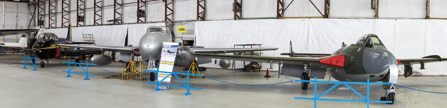 © Adam Duffield • Classic Air Force Airworthy Hangar • Classic Air Force Open Day